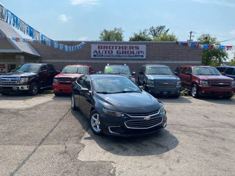 2016 Chevrolet Malibu for sale at Brothers Auto Group in Youngstown OH