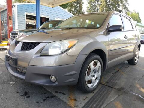 2003 Pontiac Vibe for sale at Shoreline Family Auto Care And Sales in Shoreline WA