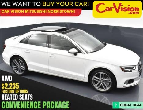 2019 Audi A3 for sale at Car Vision Mitsubishi Norristown in Norristown PA