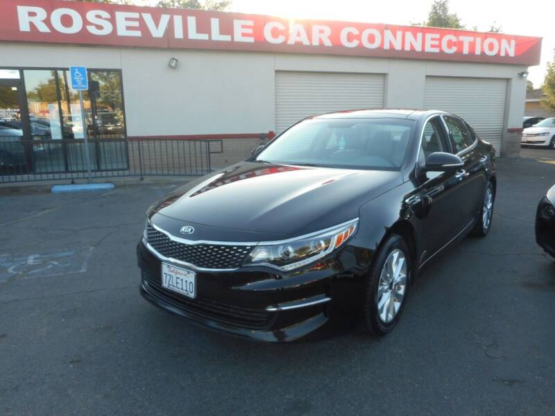 2016 Kia Optima for sale at ROSEVILLE CAR CONNECTION in Roseville CA
