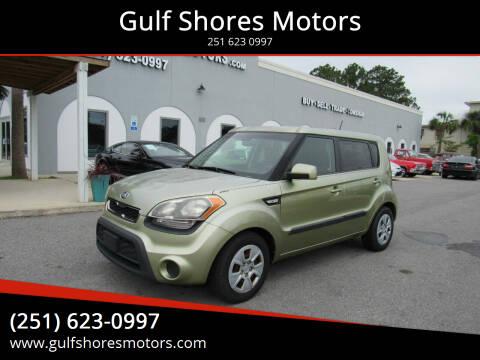 2013 Kia Soul for sale at Gulf Shores Motors in Gulf Shores AL