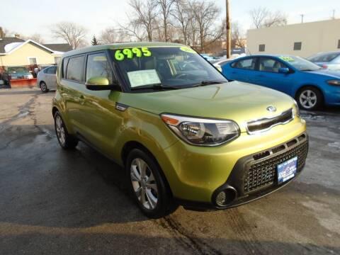 2014 Kia Soul for sale at DISCOVER AUTO SALES in Racine WI