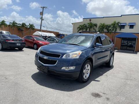 2012 Chevrolet Traverse for sale at MANA AUTO SALES in Miami FL