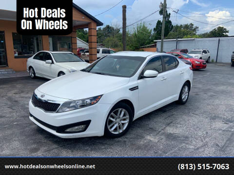 2013 Kia Optima for sale at Hot Deals On Wheels in Tampa FL