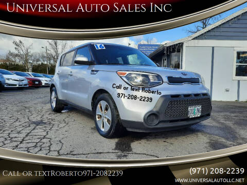 2016 Kia Soul for sale at Universal Auto Sales Inc in Salem OR