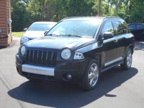2007 Jeep Compass for sale at MT MORRIS AUTO SALES INC in Mount Morris MI
