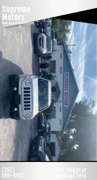 2011 Jeep Patriot for sale at Supreme Motors in Tavares FL