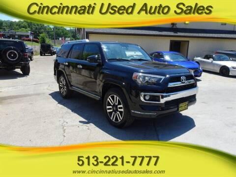 2014 Toyota 4Runner for sale at Cincinnati Used Auto Sales in Cincinnati OH