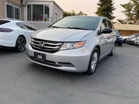 2015 Honda Odyssey for sale at Ronnie Motors LLC in San Jose CA