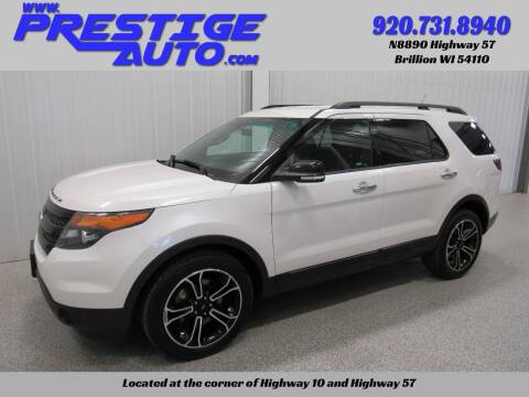 2014 Ford Explorer for sale at Prestige Auto Sales in Brillion WI