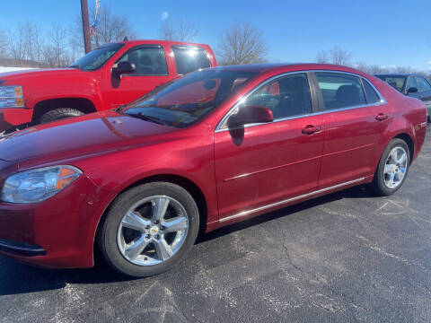 2011 Chevrolet Malibu for sale at EAGLE ONE AUTO SALES in Leesburg OH