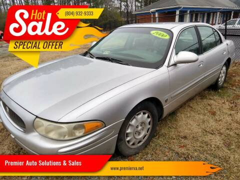 2000 Buick LeSabre for sale at Premier Auto Solutions & Sales in Quinton VA
