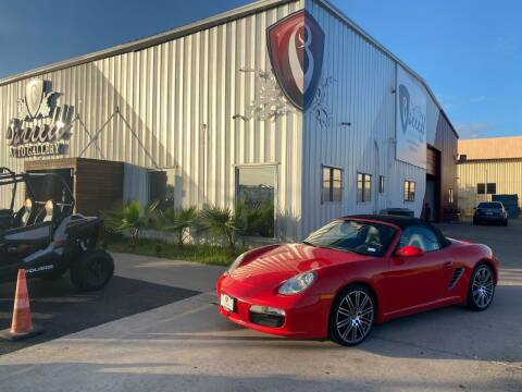 2006 Porsche Boxster for sale at Barrett Auto Gallery in San Juan TX