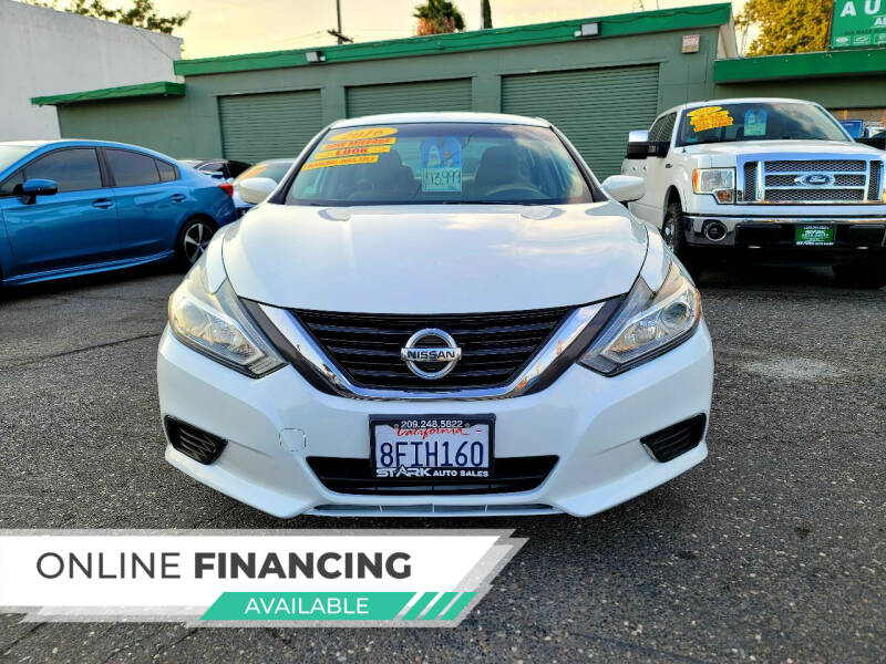 2016 Nissan Altima for sale at Stark Auto Sales in Modesto CA