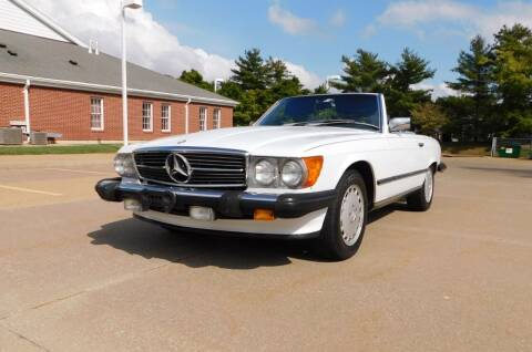 1988 Mercedes-Benz 560-Class for sale at WEST PORT AUTO CENTER INC in Fenton MO