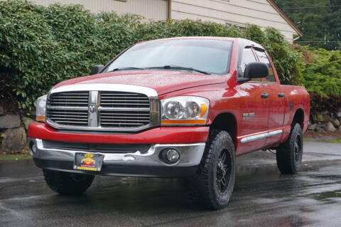 2006 Dodge Ram Pickup 1500 for sale at West Coast Auto Works in Edmonds WA