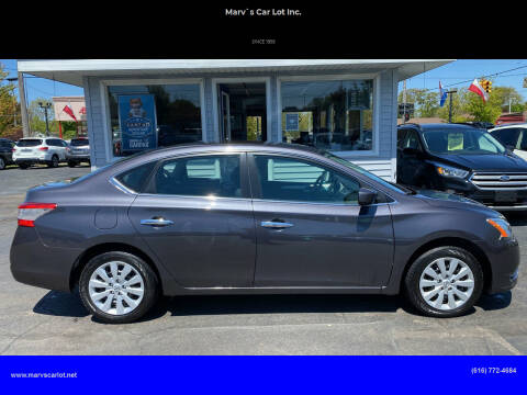2015 Nissan Sentra for sale at Marv`s Car Lot Inc. in Zeeland MI