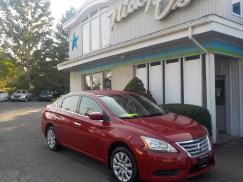 2014 Nissan Sentra for sale at Nicky D's in Easthampton MA