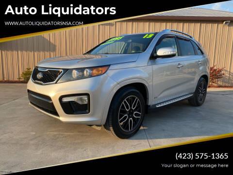 2013 Kia Sorento for sale at Auto Liquidators in Bluff City TN