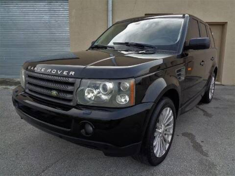 2008 Land Rover Range Rover Sport for sale at Selective Motor Cars in Miami FL