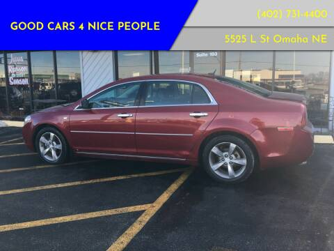 2008 Chevrolet Malibu for sale at Good Cars 4 Nice People in Omaha NE