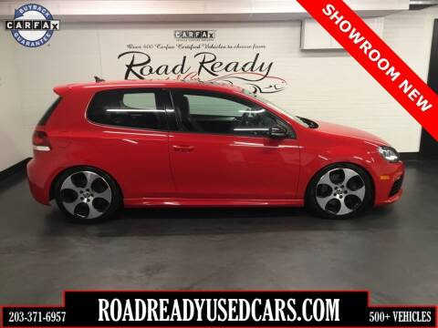 2012 Volkswagen Golf R for sale at Road Ready Used Cars in Ansonia CT