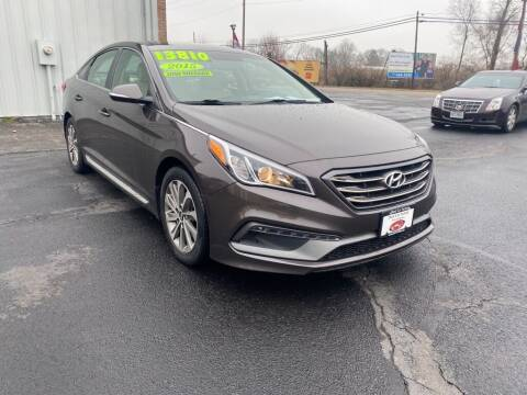 2015 Hyundai Sonata for sale at Used Car Factory Sales & Service Troy in Troy OH
