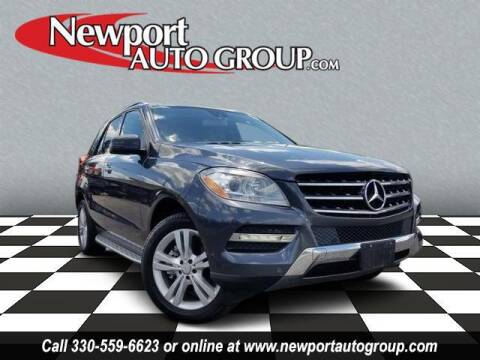 2012 Mercedes-Benz M-Class for sale at Newport Auto Group in Austintown OH