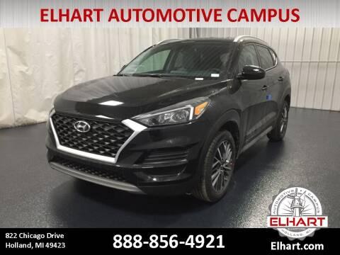 2021 Hyundai Tucson for sale at Elhart Automotive Campus in Holland MI