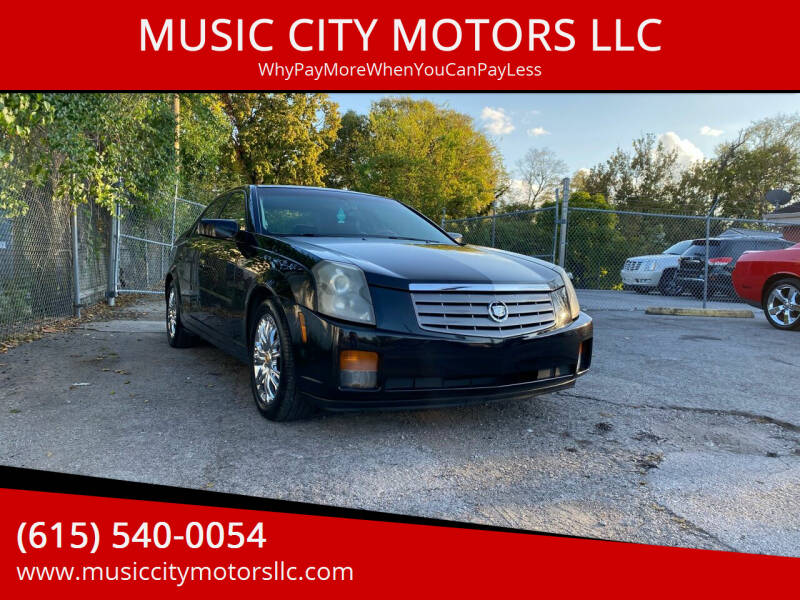 2005 Cadillac CTS for sale at MUSIC CITY MOTORS LLC in Nashville TN