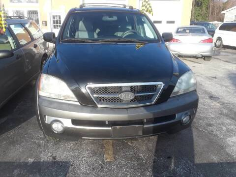 2005 Kia Sorento for sale at Autolistix LLC in Salem NJ
