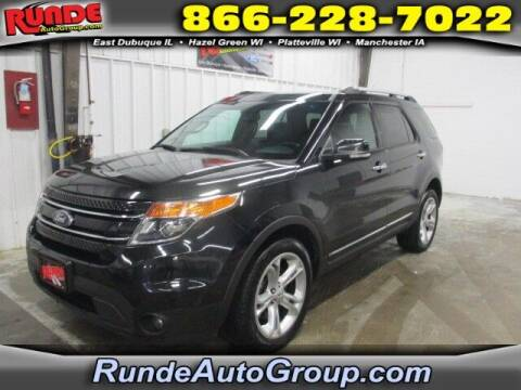 2013 Ford Explorer for sale at Runde Chevrolet in East Dubuque IL