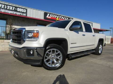 2015 GMC Sierra 1500 for sale at Lightning Motorsports in Grand Prairie TX