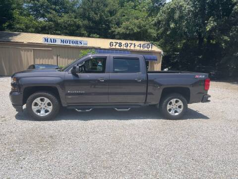 2016 Chevrolet Silverado 1500 for sale at Mad Motors LLC in Gainesville GA