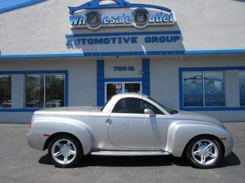 2004 Chevrolet SSR for sale at The Wholesale Outlet in Blackwood NJ