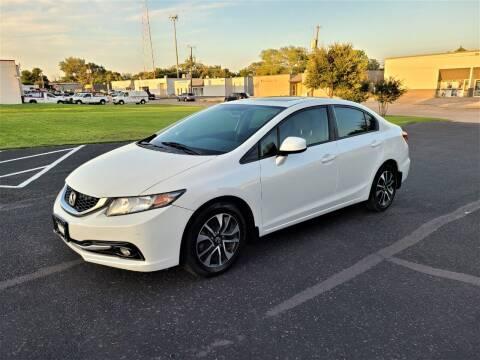 2013 Honda Civic for sale at Image Auto Sales in Dallas TX
