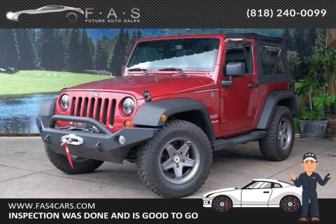 2013 Jeep Wrangler for sale at Best Car Buy in Glendale CA