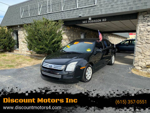2007 Ford Fusion for sale at Discount Motors Inc in Old Hickory TN