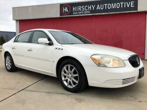 2008 Buick Lucerne for sale at Hirschy Automotive in Fort Wayne IN
