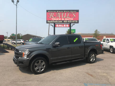 2018 Ford F-150 for sale at RAUL'S TRUCK & AUTO SALES, INC in Oklahoma City OK