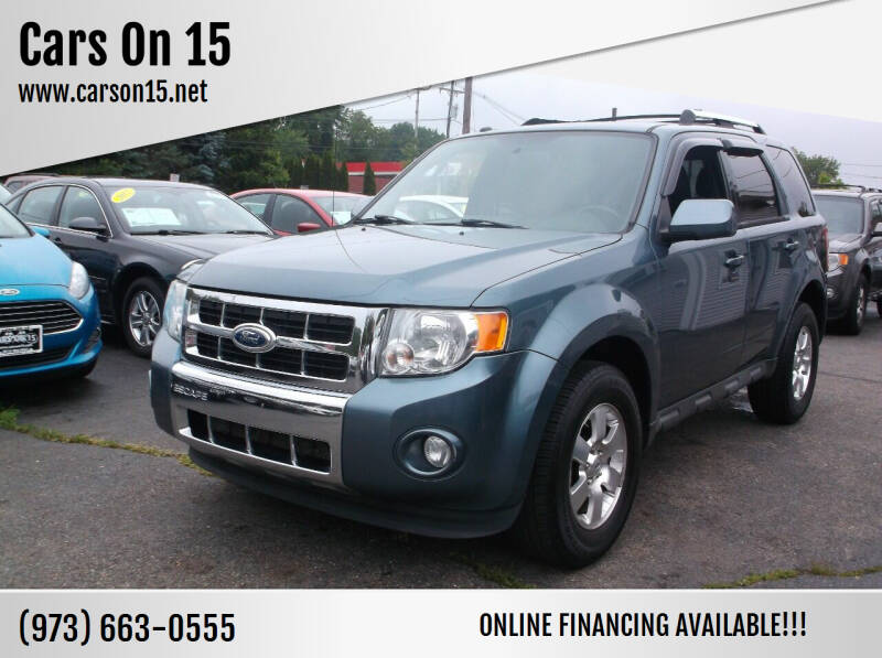 2012 Ford Escape for sale at Cars On 15 in Lake Hopatcong NJ