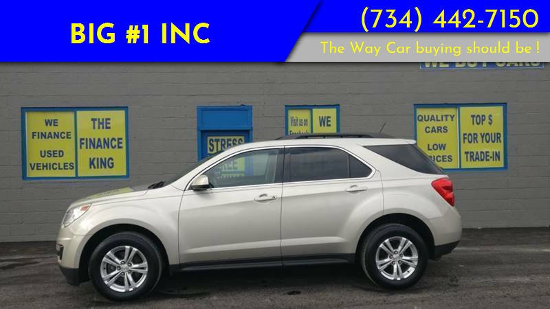 2015 Chevrolet Equinox for sale at BIG #1 INC in Brownstown MI