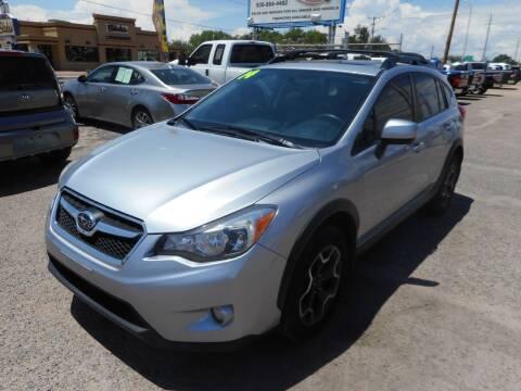2014 Subaru XV Crosstrek for sale at AUGE'S SALES AND SERVICE in Belen NM