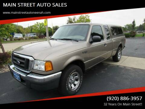 2004 Ford Ranger for sale at MAIN STREET AUTO SALES in Neenah WI