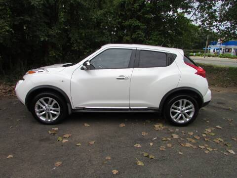 2013 Nissan JUKE for sale at Nutmeg Auto Wholesalers Inc in East Hartford CT