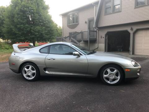 1998 Toyota Supra for sale at RAYS AUTOMOTIVE SERVICE CENTER INC in Lowell MA