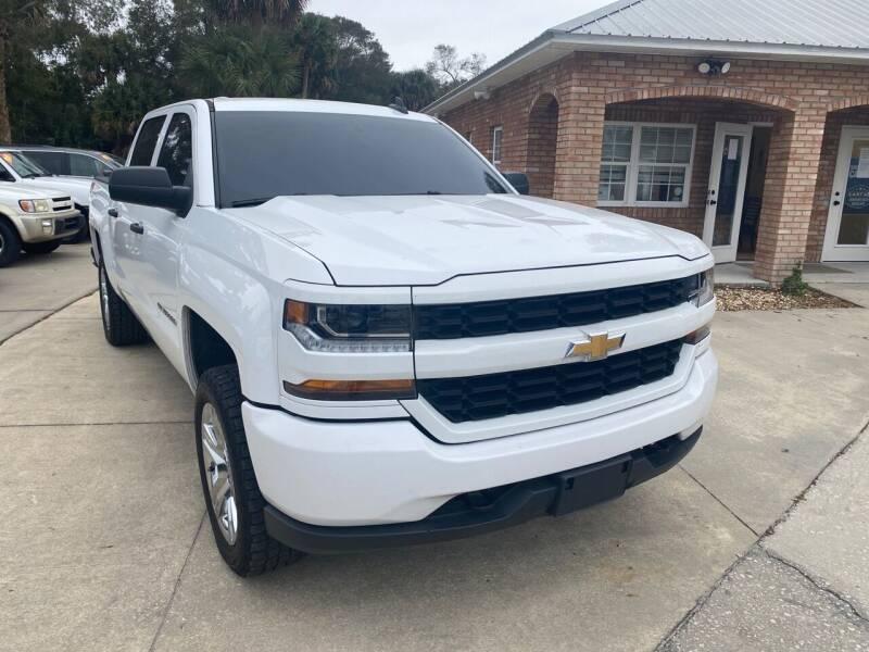 2018 Chevrolet Silverado 1500 for sale at MITCHELL AUTO ACQUISITION INC. in Edgewater FL