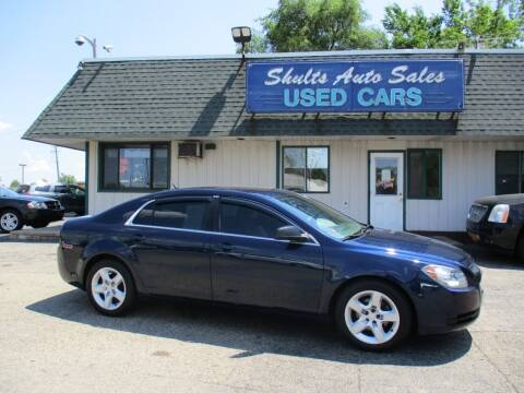 2010 Chevrolet Malibu for sale at SHULTS AUTO SALES INC. in Crystal Lake IL