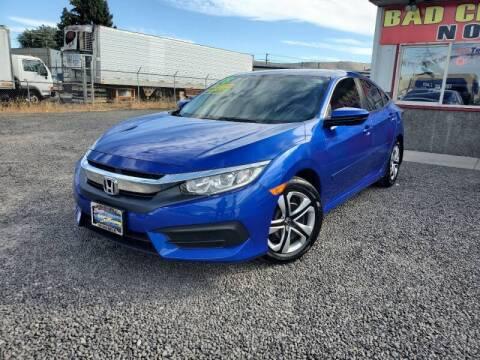 2018 Honda Civic for sale at Yaktown Motors in Union Gap WA