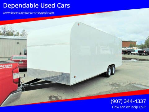 2021 Sky Cargo/Enclosed Trailer for sale at Dependable Used Cars in Anchorage AK